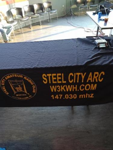 Here is our new banner that will be shown at all the hamfest.