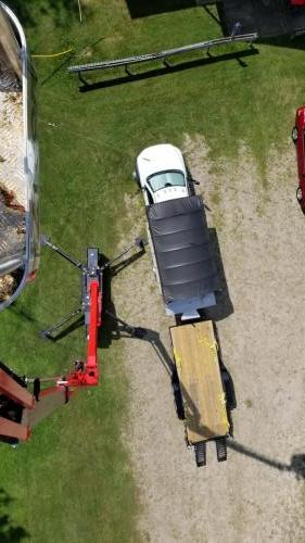 Looking straight down from 70 ft.  WOW!