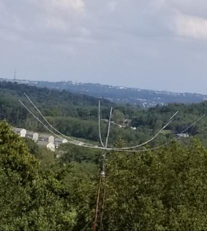 Here your new Hex Beam antenna